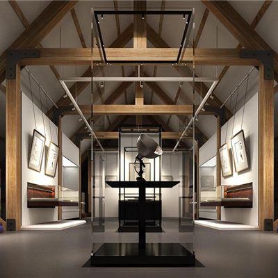 在展览馆室内设计中,我们需要注意的是