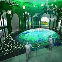 消防馆展厅设计理念,创造最和谐的陈展与观展空间场所_展厅设计